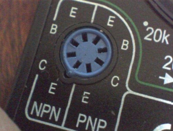 коннектор мультиметра