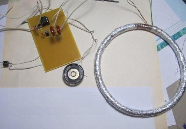 три основных элемента металлоискателя