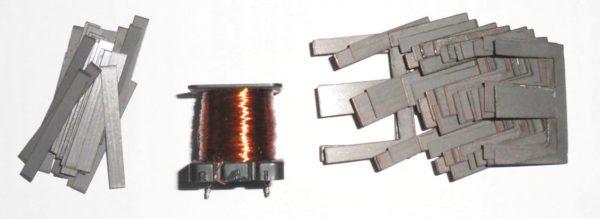 пластины магнитопровода