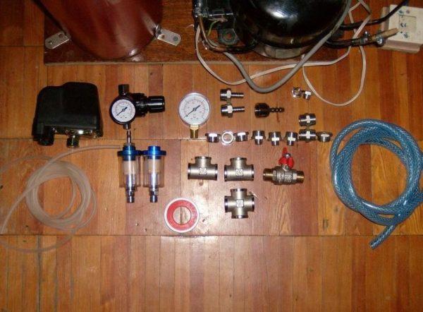 комплект деталей для изготовления компрессора