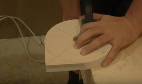 шлифовальный диск из фанеры