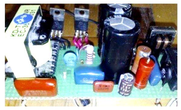 плата импульсного зарядного устройства