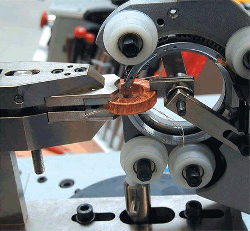 станок для намотки обмотки трансформатора
