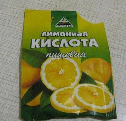 лимонная кислота для удаления накипи