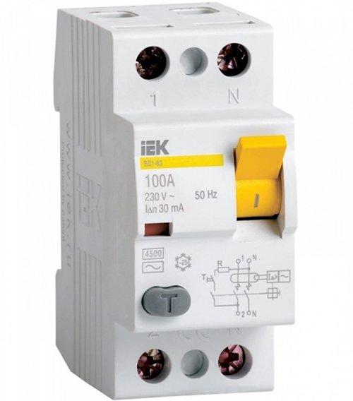 УЗО - устройство защитного отключения