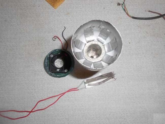 алюминиевая трубка от старого конденсатора