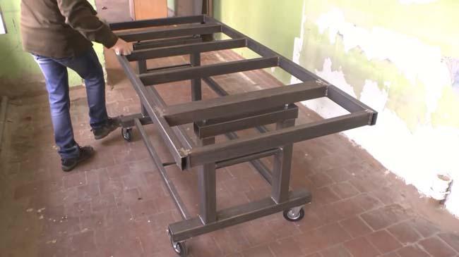 сварочный стол заготовка