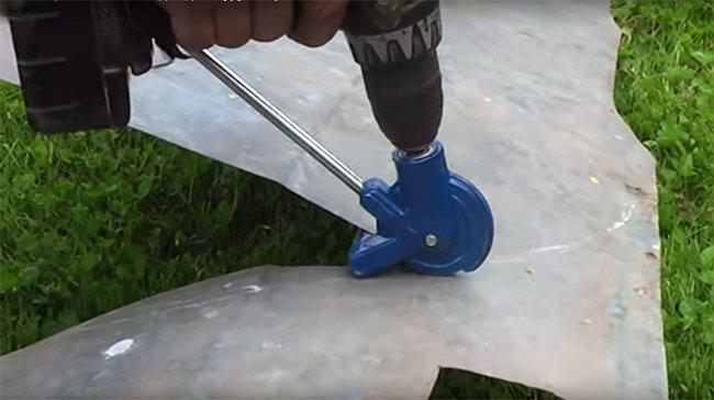 насадка для резки металла на дрель и шуруповерт