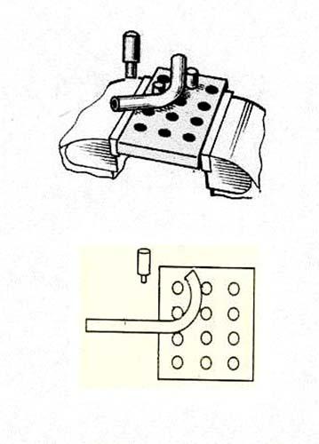4. Кондуктор для изгиба прямоугольной трубы