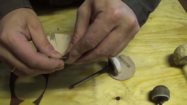 делаем самодельную насадку для шлифовки