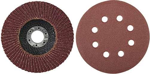 шлифовальные круги разных типов