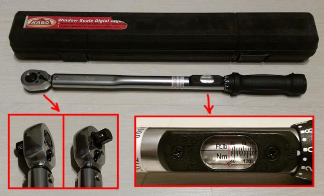 динамометрический ключ от Kabo Tool Company