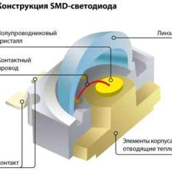 так работает SMD светодиод