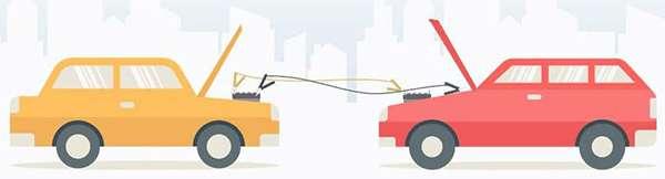простая схема подключения от автомобиля к авто