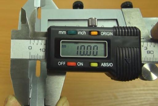 Считывание размера со штангенциркуля ШЦЦ