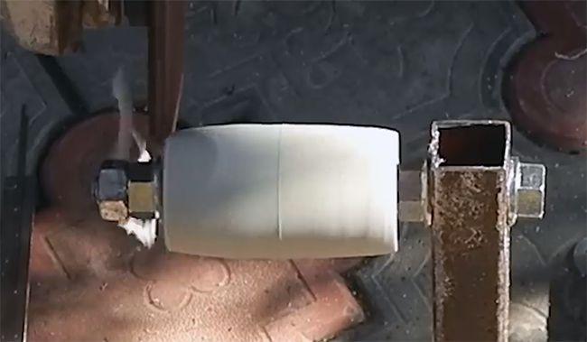 обработка ролика