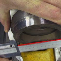 правильное положение при измерениях диаметров